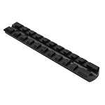 NcSTAR 10/22 Receiver Picatinny Rail - Black