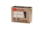 Hornady 40SW Critical Defense 140GR FTX