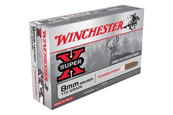 Winchester 8mm Mauser 170Gr Cartridge