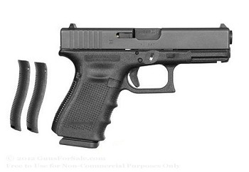 GLOCK 19 GEN4 9MM 15RD with night sights